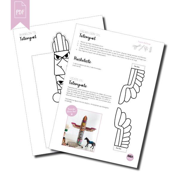 Dette modtager du når du køber print selv guiden